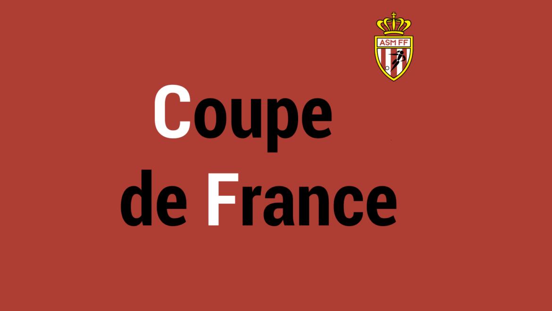 Troisième tour de Coupe de France contre le FC Golfe Juan Vallauris.